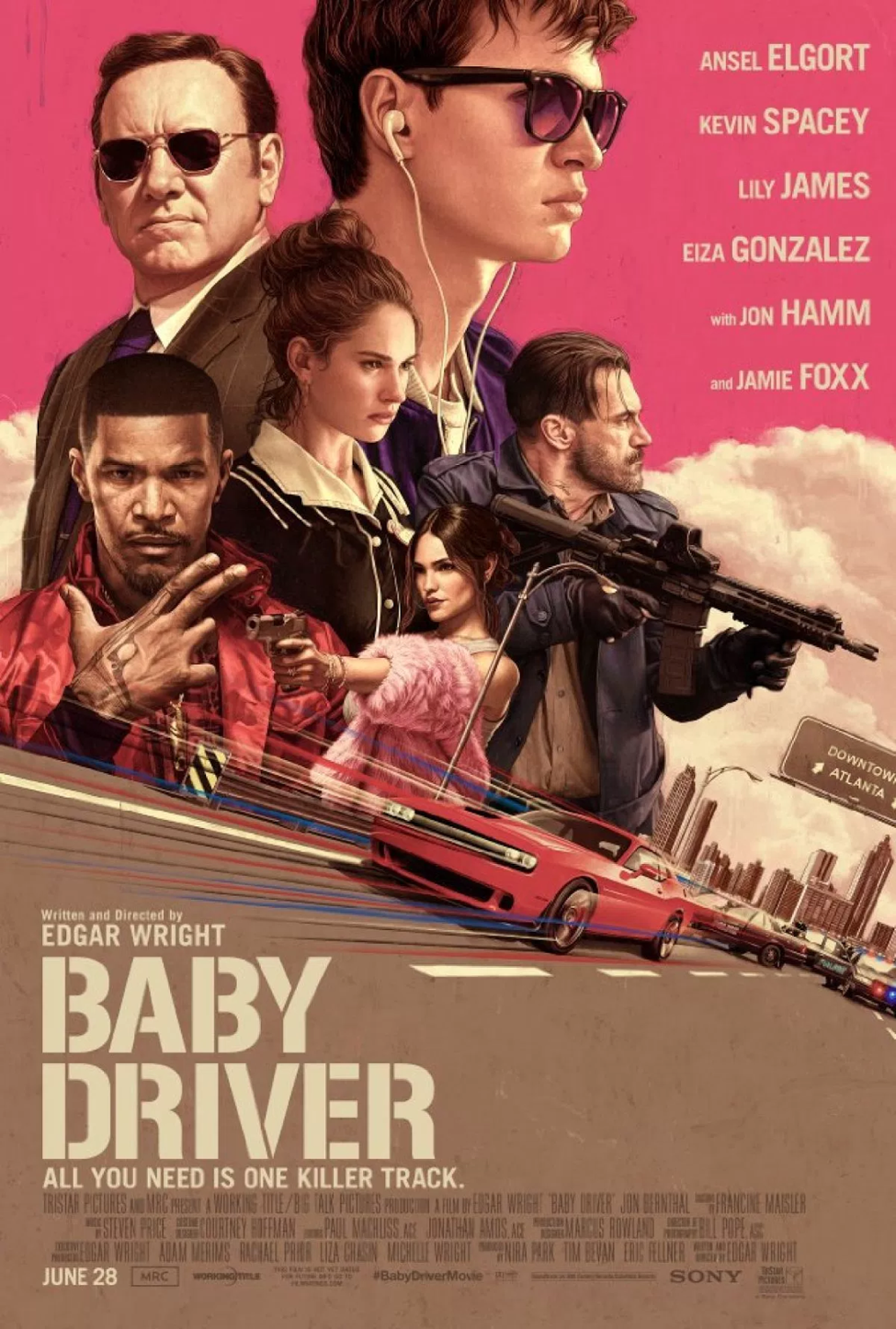 Baby Driver Poster Tn2 Head to Head Review